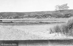 Aberdovey, From The Sand Dunes c.1955