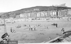Aberdovey, From The Sands c.1955