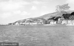Aberdovey, From The Sea c.1960
