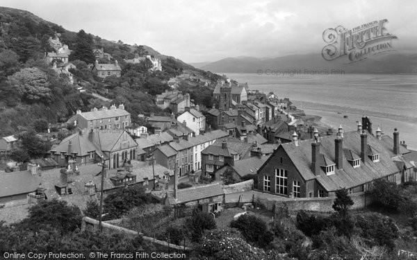 Photo of Aberdovey, General View c.1955