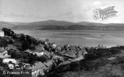 Aberdovey, General View c.1955, Aberdyfi
