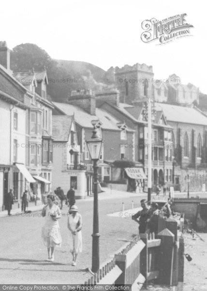 Photo of Aberdovey, Ladies Taking A Walk c.1939