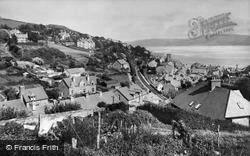 Aberdovey, Looking East c.1950