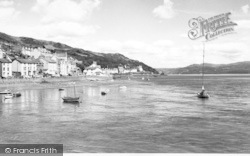 Aberdovey, Looking East c.1960