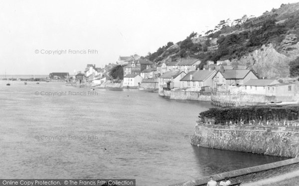 Photo of Aberdovey, Looking West From Penhelig c.1955