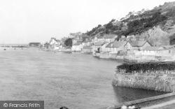 Aberdovey, Looking West From Penhelig c.1955