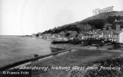 Aberdovey, Looking West From Penhelig c.1955, Aberdyfi