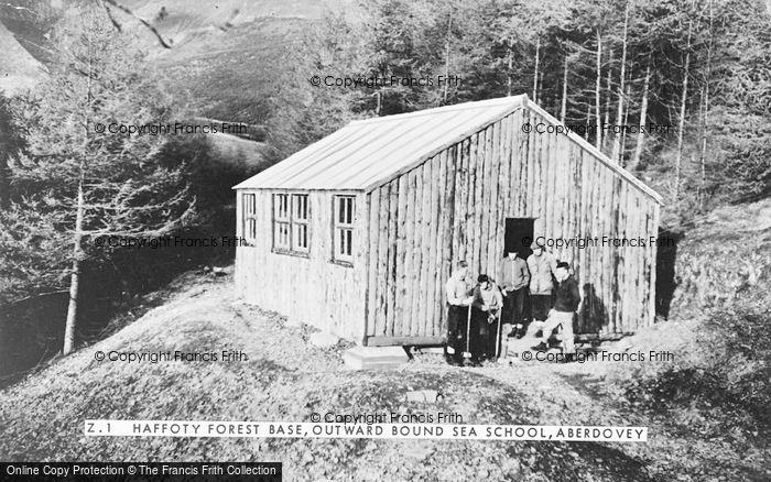 Photo of Aberdovey, Outward Bound Sea School, Haffoty Forest Base c.1960
