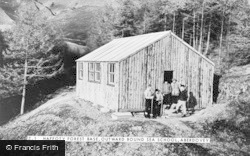 Aberdovey, Outward Bound Sea School, Haffoty Forest Base c.1960