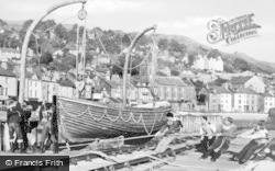 Aberdovey, Outward Bound Sea School, Lifeboat Drill c.1960