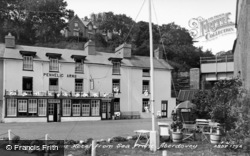 Aberdovey, Penhelig Arms From Seafront c.1955, Aberdyfi