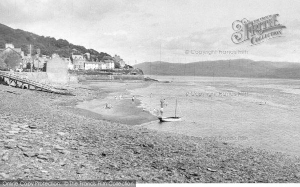 Photo of Aberdovey, Penhelig Beach c.1955