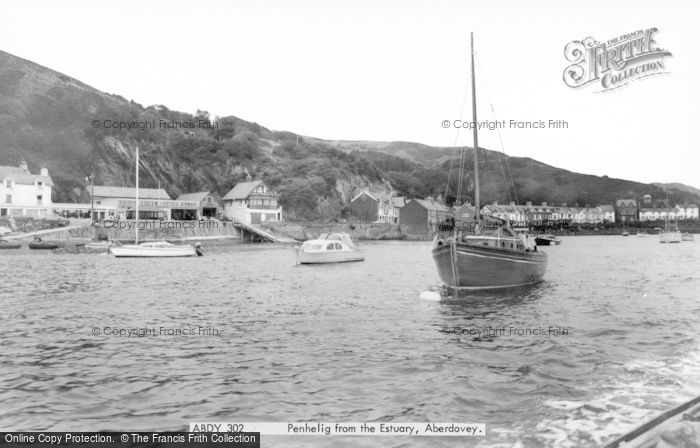 Photo of Aberdovey, Penhelig From The Estuary c.1965