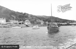 Aberdovey, Penhelig From The Estuary c.1965