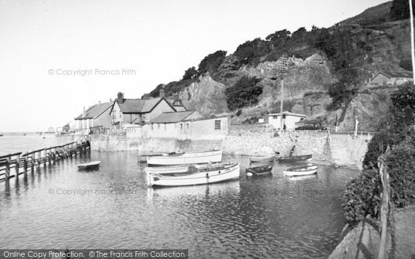 Photo of Aberdovey, Penhelig Harbour c.1955