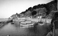 Aberdovey, Penhelig Harbour c.1955