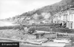 Aberdovey, Penhelig Terrace c.1955