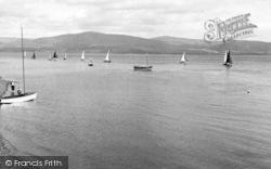 Aberdovey, Sailing c.1955