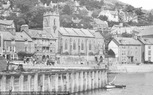 Photo of Aberdovey, St Peter's Church c.1939