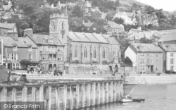 Aberdovey, St Peter's Church c.1939