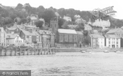 Aberdovey, St Peter's Church,  From The Sea c.1965