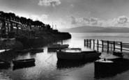 Aberdovey, Sunrise Over Penhelig c.1955