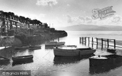 Aberdovey, Sunrise Over Penhelig c.1955