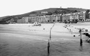 Aberdovey, The Beach 1935
