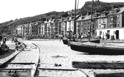 Aberdovey, The Beach 1955