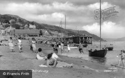 Aberdovey, The Beach c.1955, Aberdyfi