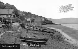 Aberdovey, The Beach c.1955