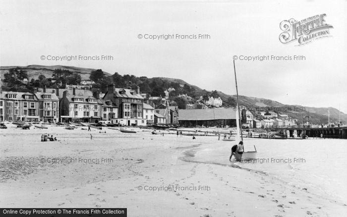 Photo of Aberdovey, The Beach c.1965