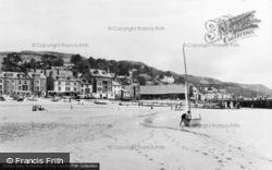 Aberdovey, The Beach c.1965