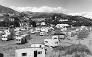 Aberdovey, The Caravan Site c.1960