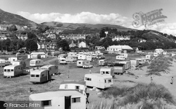 Aberdovey, The Caravan Site c.1960