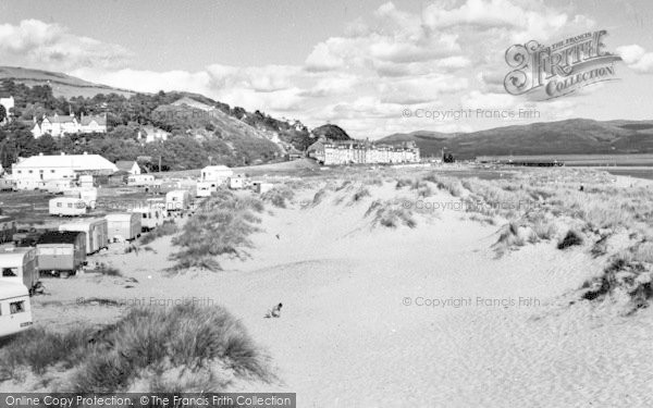 Photo of Aberdovey, The Caravan Site c.1960