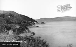 Aberdovey, The Estuary c.1955