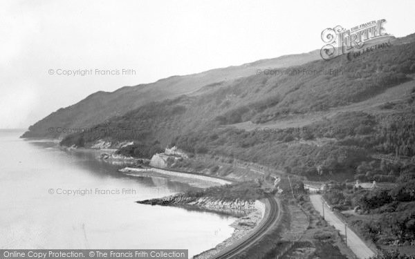 Photo of Aberdovey, The Five Points c.1955