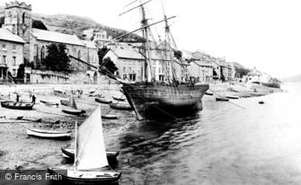 Aberdovey, the Front 1895