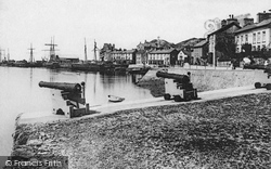 Aberdovey, The Harbour 1893