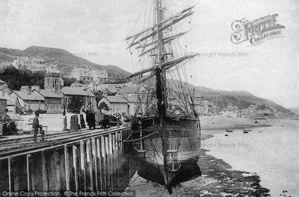 Photo of Aberdovey, The Harbour 1898