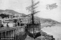 Aberdovey, The Harbour 1898