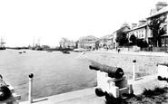 Aberdovey, The Harbour 1901