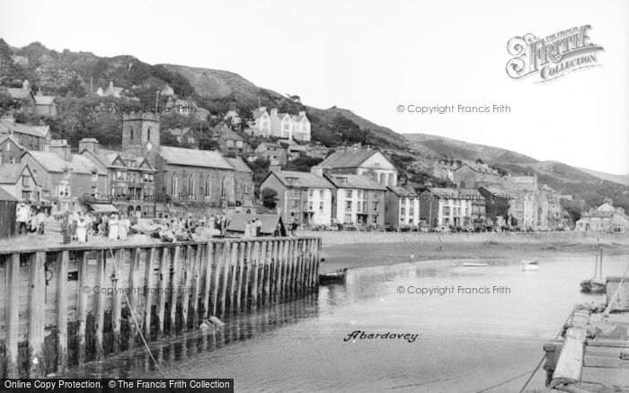 Photo of Aberdovey, The Harbour c.1950