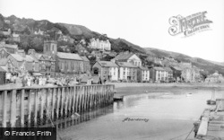 Aberdovey, The Harbour c.1950
