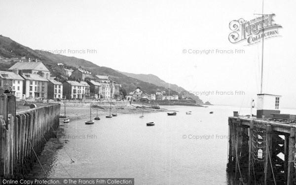 Photo of Aberdovey, The Harbour c.1955
