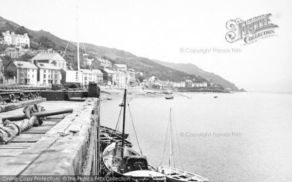 Photo of Aberdovey, The Harbour c.1955