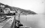 Aberdovey, The Harbour c.1955
