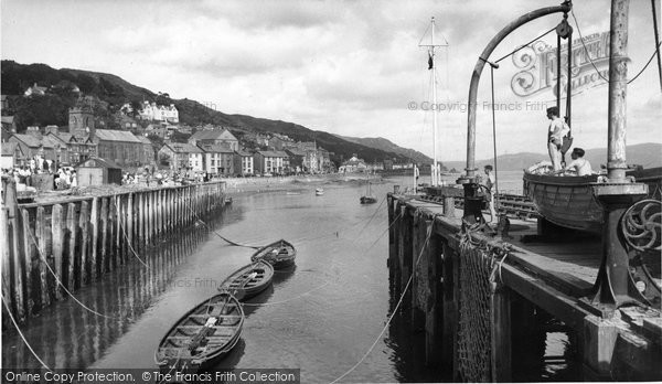 Aberdovey, The Harbour c.1955