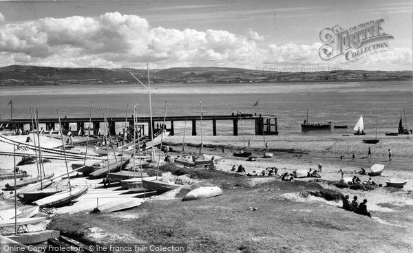 Aberdovey, The Harbour c.1960